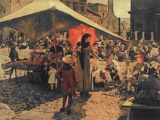 Market in Banska Bystrica