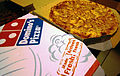 Domino's Pizza (Malaysia), Chicken Pepperoni, NY Crust.JPG