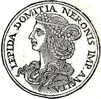 """Domitia Lepida the Elder - Domitia from """"Promptuarii Iconum Insigniorum """""""