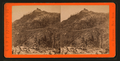 Donner Peak, 9000 feet above the level of the sea. Snow sheds along the cliff, 1500 ft. above the valley, from Robert N. Dennis collection of stereoscopic views 2.png