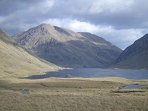 Ben Gorm - Doolough looking southeast towards Ben Gorm