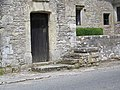 Door and mounting block, Manor House, Chicksgrove - geograph.org.uk - 948095.jpg