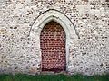 Door of Church of All Saints, Radwell.jpg