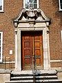 Doorway on the South Side of the Foundling Museum, Bloomsbury.jpg