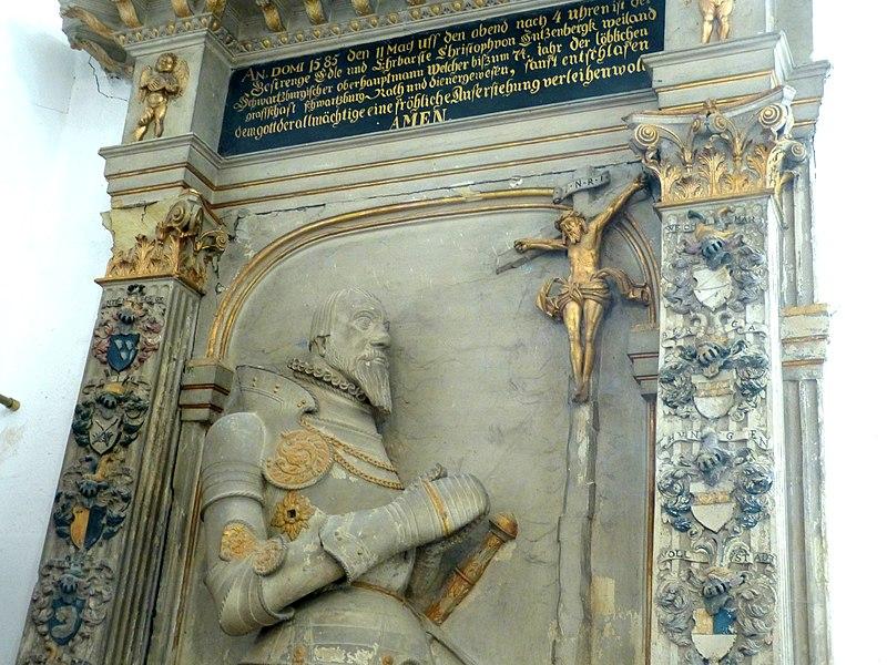 File:Dornheim Bachkirche - Grabstein Entzenberg 3.jpg
