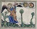 Douce Apocalypse - Bodleian Ms180 - p.026 Fourth trumphet.jpg