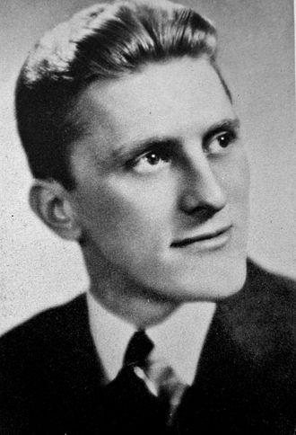 Kirk Douglas - College graduation, 1939