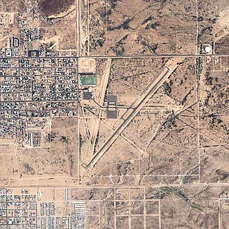 Douglas Municipal Airport (Arizona) - 2006 USGS photo