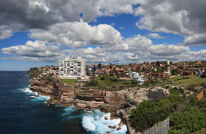 Vaucluse, New South Wales - Overlooking Diamond Bay and the Tasman Sea from Chris Bang Crescent Vaucluse