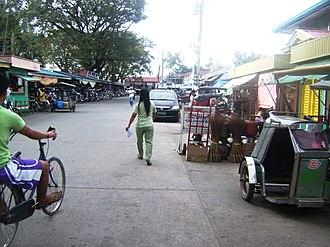 San Luis, Pampanga - Image: Downtown San Luis