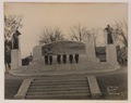 Dr Bell and committee in front of the Bell memorial, on the second step (HS85-10-33596) original.tif