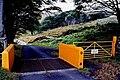 Druidale Road - Cattle grid and gate - geograph.org.uk - 1703924.jpg