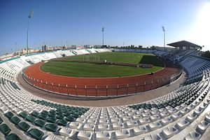 2019 AFC Asian Cup - Image: Dubai Maktoum Bin Rashid Al Maktoum Stadium 2
