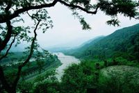 The Dujiangyan Irrigation System located near Chengdu is one of the World Cultural Heritage Sites together with Mount Qingcheng