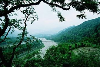 Chengdu - The Dujiangyan Irrigation System built in 256 BC still functions today.
