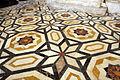 Duomo di genova, cappella di s. giovanni battista, 1451-65, pavimento 01.JPG