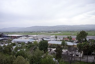 Dushanbe International Airport - Image: Dushanbe Airport