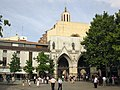 E121 Plaça Vella, catedral del Sant Esperit.jpg