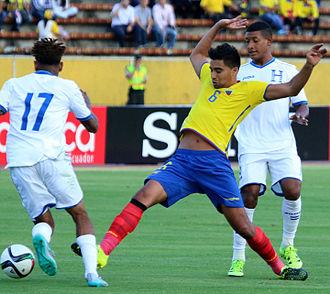 Christian Noboa - Noboa playing for Ecuador in 2015.