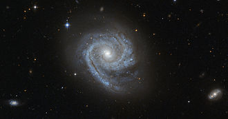 Bulge (astronomy) - Astronomers refer to the distinctive spiral-like bulge of galaxies such as ESO 498-G5 as disc-type bulges, or pseudobulges.