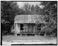 East front - Vance Farmstead, Tenant House A, State Route 88, Hephzibah, Richmond County, GA HABS GA,123-HEPH,1B-1.tif