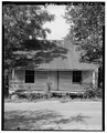 East front - Vance Farmstead, Tenant House B, State Route 88, Hephzibah, Richmond County, GA HABS GA,123-HEPH,1C-1.tif