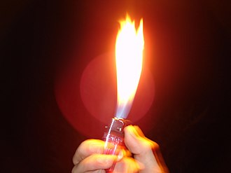 Sentimental ballad - To emphasize the emotional aspect of a power ballad, crowds customarily hold up lighters adjusted to produce a large flame.