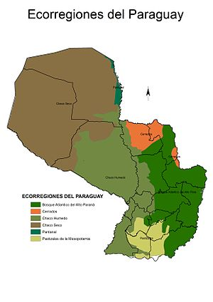 Geography of Paraguay - Ecoregions of Paraguay