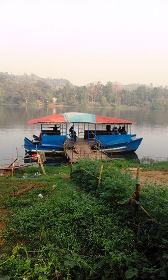 Chaliyar - Boat service in Chaliyar at Elamaram