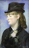 Edouard Manet-Study of the barmaid for Le Bar des Folies Bergeres mg 1821.jpg