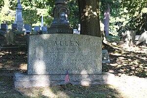 Edward P. Allen - Allen grave