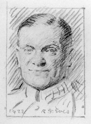 Edward Shortt - Pencil sketch of Edward Shortt by Reginald Grenville Eves