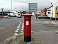 Edward VII pillar box, Church Street, Caldewgate - geograph.org.uk - 987664.jpg