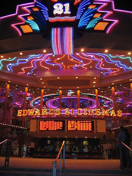 Movie theaters edwards
