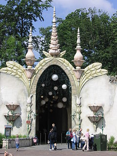 Dreamflight dark ride in Efteling