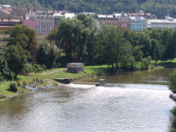 Skyline of Karlovy Vary Region