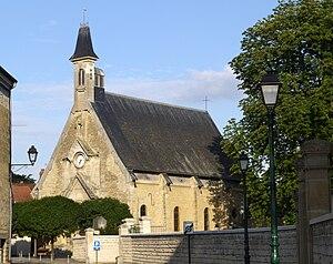 Neuville-sur-Oise - The church of Saint-Joseph, in Neuville-sur-Oise