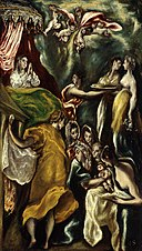 El Greco - The Birth of the Virgin, 1608-20.jpg