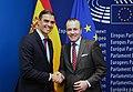 El presidente del Gobierno, Pedro Sánchez, en Estrasburgo 05.jpg