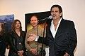 El tanguero Guillermito Fernández habla en el Museo de Arte de las Américas, en Washington DC, 2014-04-03.jpg