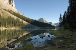 Elbow Lake in Peter Lougheed Provincial Park, Kananaskis Country