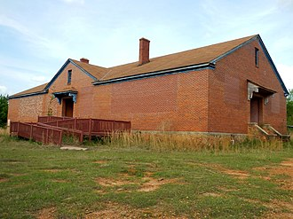 Warm Springs, Georgia - Image: Eleanor Roosevelt School; Warm Springs, GA