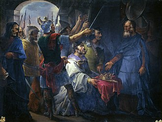 Wamba (king) - The Election of Wamba as King, by Francisco de Paula Van Halen