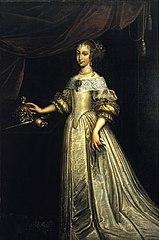 Portrait of Queen Eleanor Maria of Austria