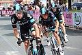 Elia Viviani, Richie Porte, Salvatore Puccio, Giro d'Italia 2015.jpg