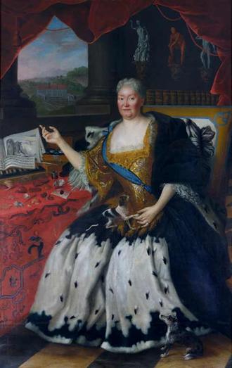 Gandersheim Abbey - Princess Elisabeth Ernestine Antonie of Saxe-Meiningen, Abbess of Gandersheim