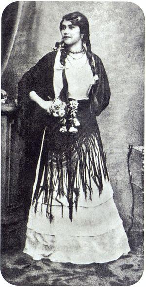 Eliza Lynch - Lynch around age 20, c.1855
