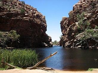 MacDonnell Ranges - Image: Ellery Creek