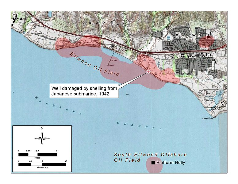 нефтепромысла Ellwood Oil