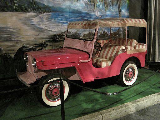 Elvis Presley Automobile Museum Memphis TN 2013-03-24 026 1960 Willi-s Jeep